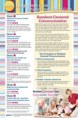 2013 NPSG Staff Poster - Long Term Care
