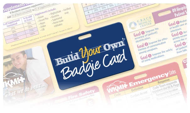 Build-Your-Own Badgie™ Card