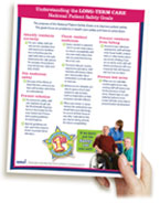 2010 National Patient Safety Goals Simply Said Flyer