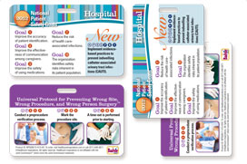 2012 National Patient Safety Goals Badgie Cards