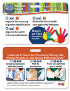 2013 National Patient Safety Goal Poster for Ambulatory Carels