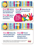 2013 National Patient Safety Goal Poster for Long-Term Care