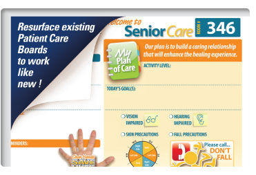 Patient Care Central Topper Overlays