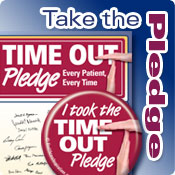 Take out Time Out Pledge