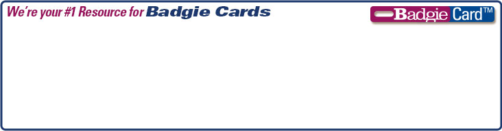 We're your Number 1 resource for Badgie Cards