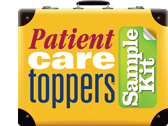 Patient Care Central Toppers Sample Kit