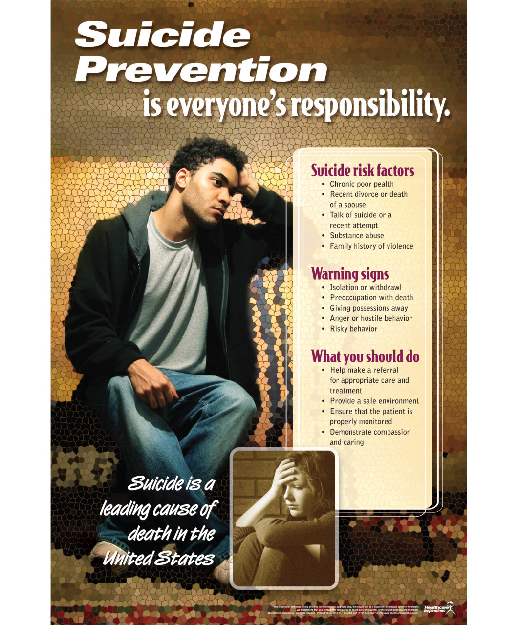 Suicide Prevention Campaign Posters Pictures to Pin on ...