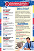 2014 National Patient Safety Goals |