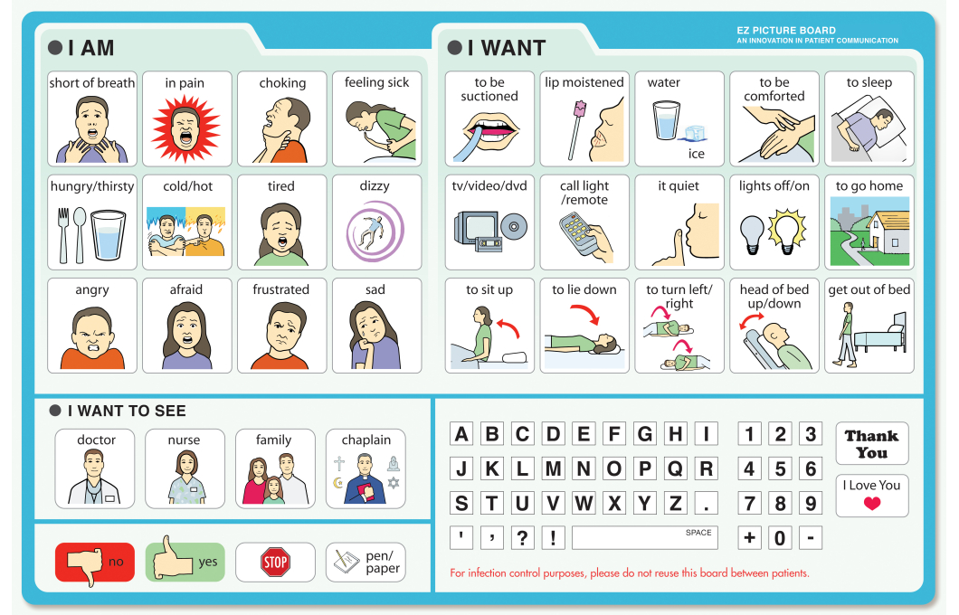 It's just an image of Vibrant Printable Communication Board for Adults