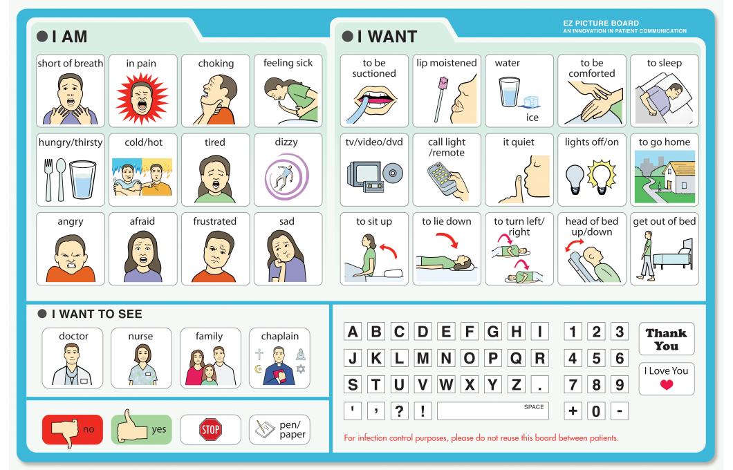 E|Z Picture Communication Board