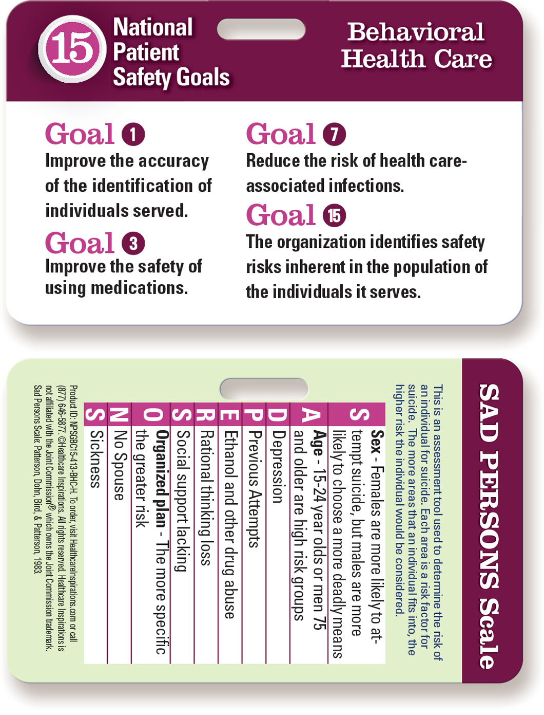 abib national patient safety goals The national patient safety goals (npsgs) are a critical method by which the joint commission promotes and enforces major changes in patient safety the joint commission regularly revises the npsgs based on their impact, cost, and effectiveness, in order to ensure health care facilities focus on preventing major sources of patient harm major focus areas include promoting surgical safety and preventing hospital-acquired infections, medication errors, and specific clinical harms such as falls.